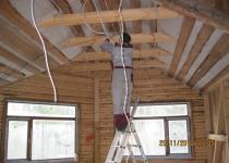 Замена проводки в деревянном доме