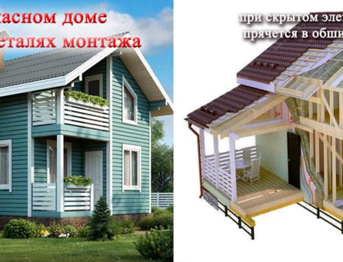 Электрика в каркасных домах Электромонтаж в каркасных домах