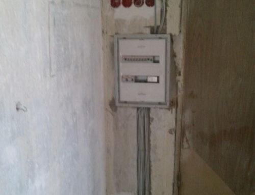 замена проводки в трехкомнатной квартиры в