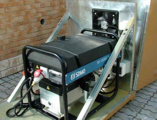 Как установить генератор?