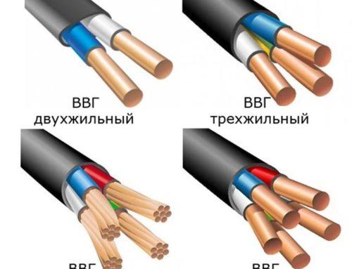 Классификация и маркировка силового кабеля